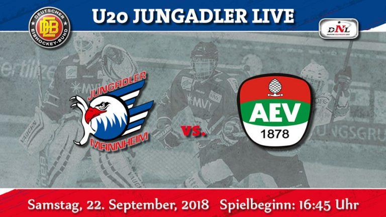 22./23.09.18 DNL Die nächste Runde. Heimspiele gegen Augsburg