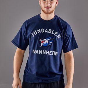 T-Shirt 3-D blau