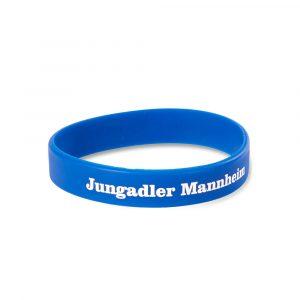 Siliconband Jungadler blau