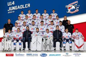 U14: Jungadler zurück im Ligabetrieb – zunächst in und dann zuhause gegen Stadion Litoměřice