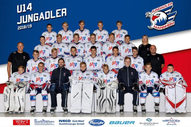 """U14: Erstes Heimspielwochenende 2019 mit zwei Siegen gefeiert – """"Hockey-Cup"""" kann kommen"""