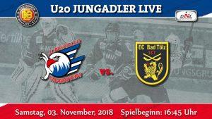 03./04.11.18 DNL Endlich wieder daheim. Jungadler treffen auf Bad Tölz.