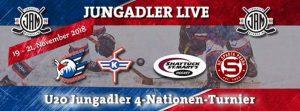 U20: 4- Nationen- Turnier in Mannheim. Gäste aus Europa und den USA