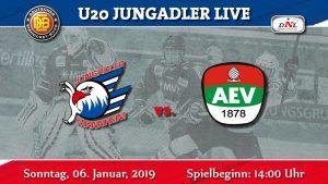 DNL: Neues Jahr, erstes Spiel. Augsburg zu Gast in Mannheim