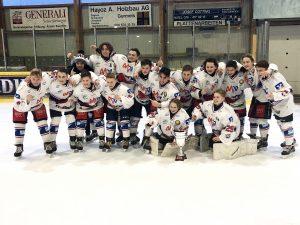 27./28.12.2018 U15: Turniersieg beim Schweizer Christmas-Cup in Düdingen