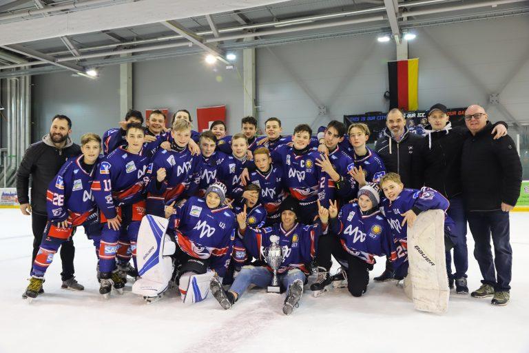 Jungadler gewinnen Mannheimer U15 HockeyCup 2019