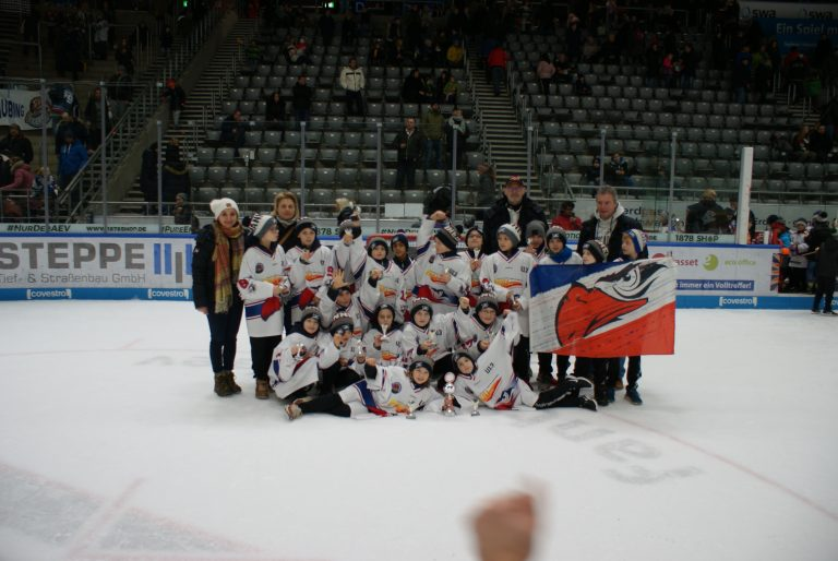 Die U11 der Jungadler beim DEL U11-Cup in Augsburg