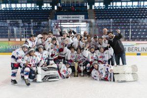 Jungadler holen sich zum zweiten Mal in Folge den DEL U13 Cup in Berlin