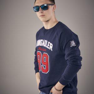 Sweatshirt Blau 99