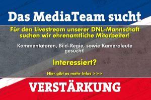 Das MediaTeam sucht Verstärkung für den Livestream