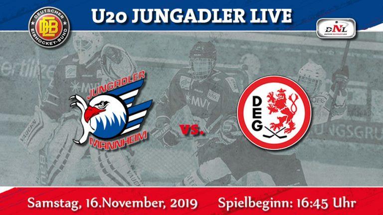 DNL- Jagd nach Punkten gegen die Düsseldorfer EG