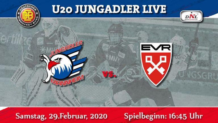 DNL- Zwei intensive Spiele stehen an. Regensburg zu Gast in Mannheim.