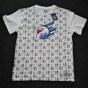 T-Shirt Wappen weiß 2020/2021