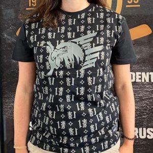 T-Shirt Wappen schwarz 2020/2021