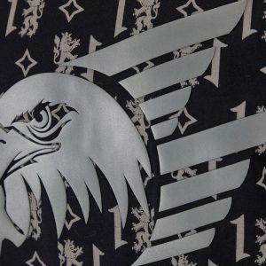Hoody Wappen schwarz