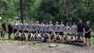 U15: Teamtag mit neuem Trainer