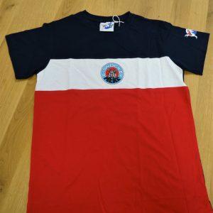 MERC T-Shirt blau/weiß/rot (Kids)