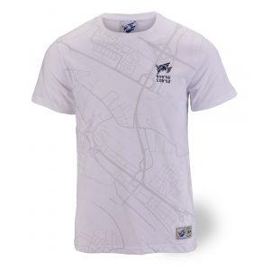 T-Shirt Map weiß