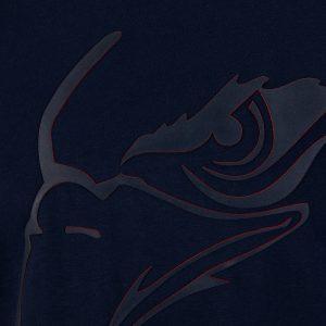 T-Shirt Adlerblick blau