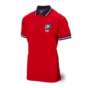 Polo-Shirt Logo rot