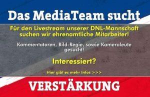 Jungadler Media Team sucht Unterstützung.