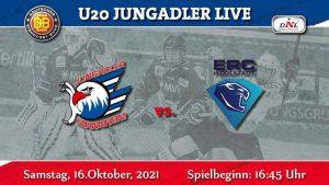 DNL- Jungadler gegen Panther. Spitzenspiel gegen den ERC Ingolstadt